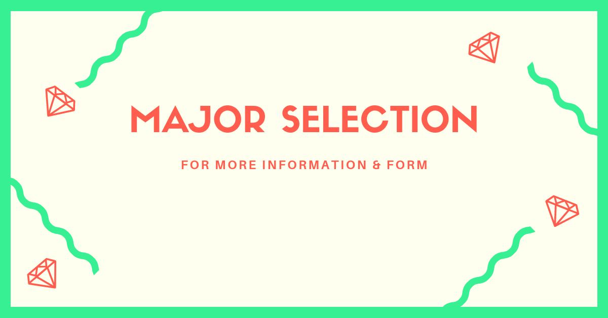 Major SElection